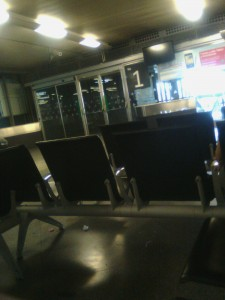 Esperando en Atocha