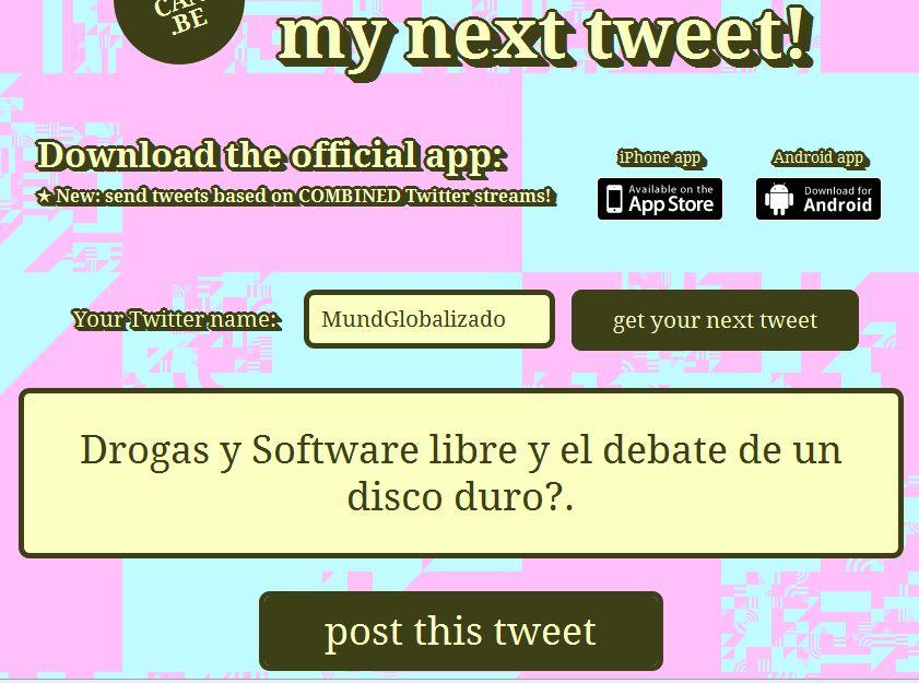 my next tweet mundglobalizado